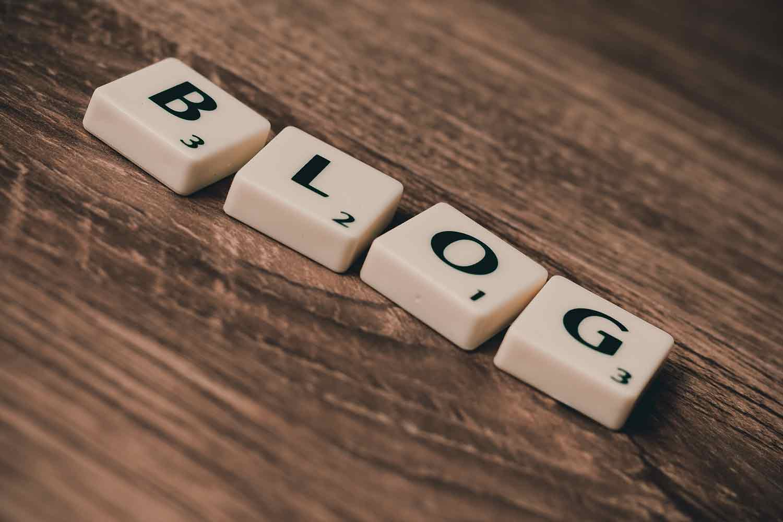 scrabble letters reading blog