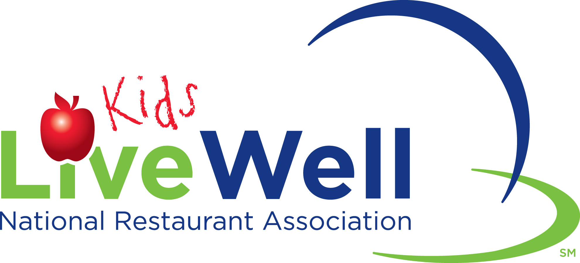 KidsLiveWell National Restaurant Association logo