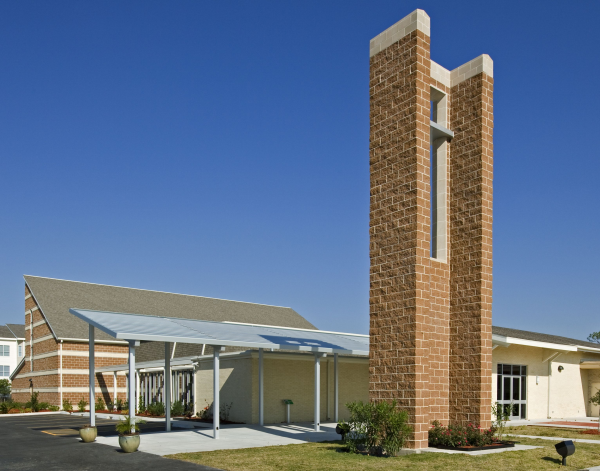 Architect as shepherd church design for Church exterior design