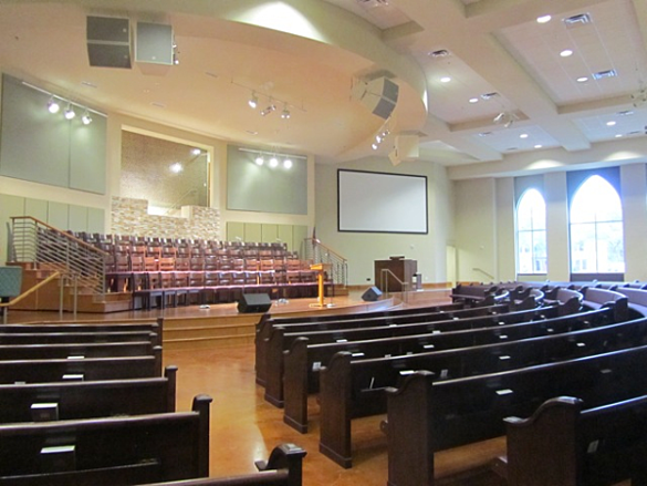 Church interior design is beige the only color for Church interior designs ideas