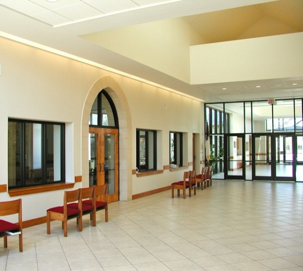 What is a narthex st. john's entry