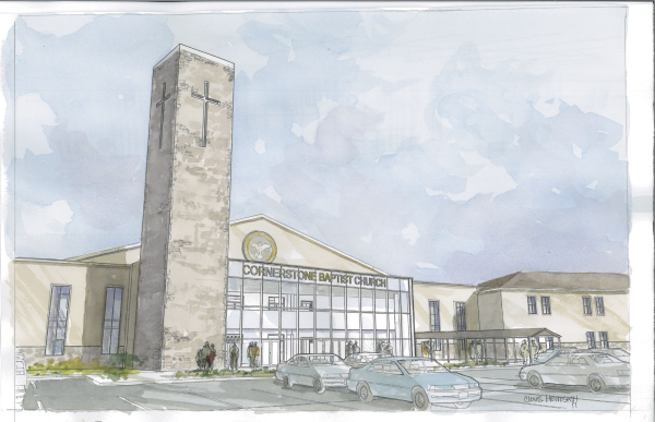 Architectural Watercolor Rendering Cornerstone resized 600