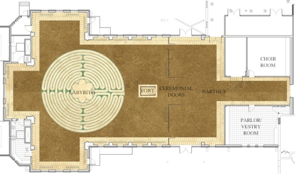 Floor plan of Holy Trinity Worship Space resized 600