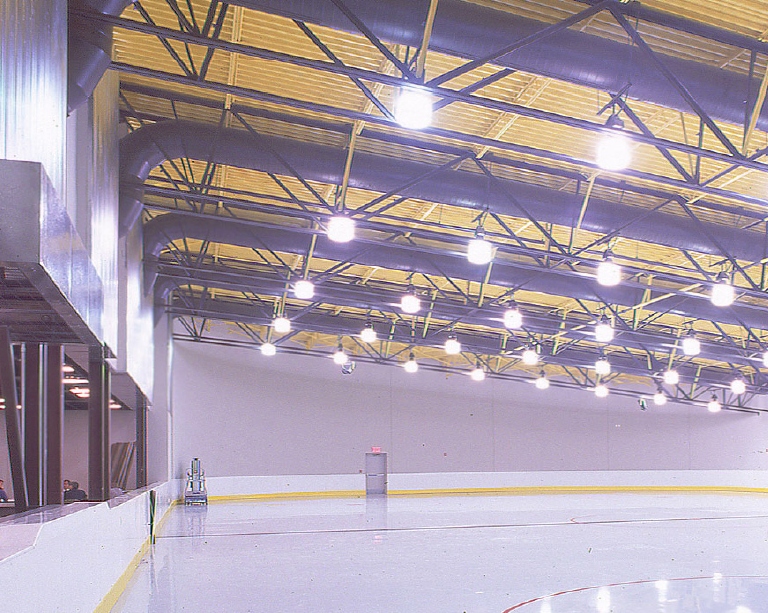 Ice skating rink part of the new site developed for the Millenium Youth Entertainment Center