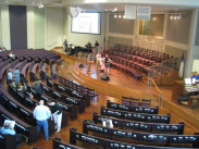 Woodlawn Baptist Church Interior Dedication