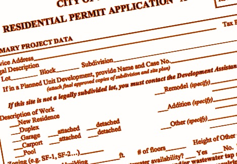 How To Get A Permit - Application Detail