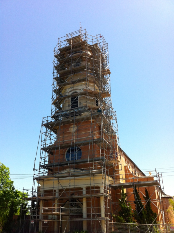Our Lady of Guadalupe Steeple Restoration