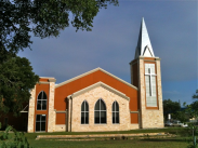 Woodlawn Baptist Church dedication