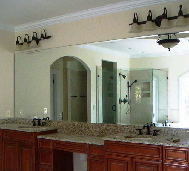 Bathroom Mirrors Beveled Edge beveled edge mirror image gallery - hcpr