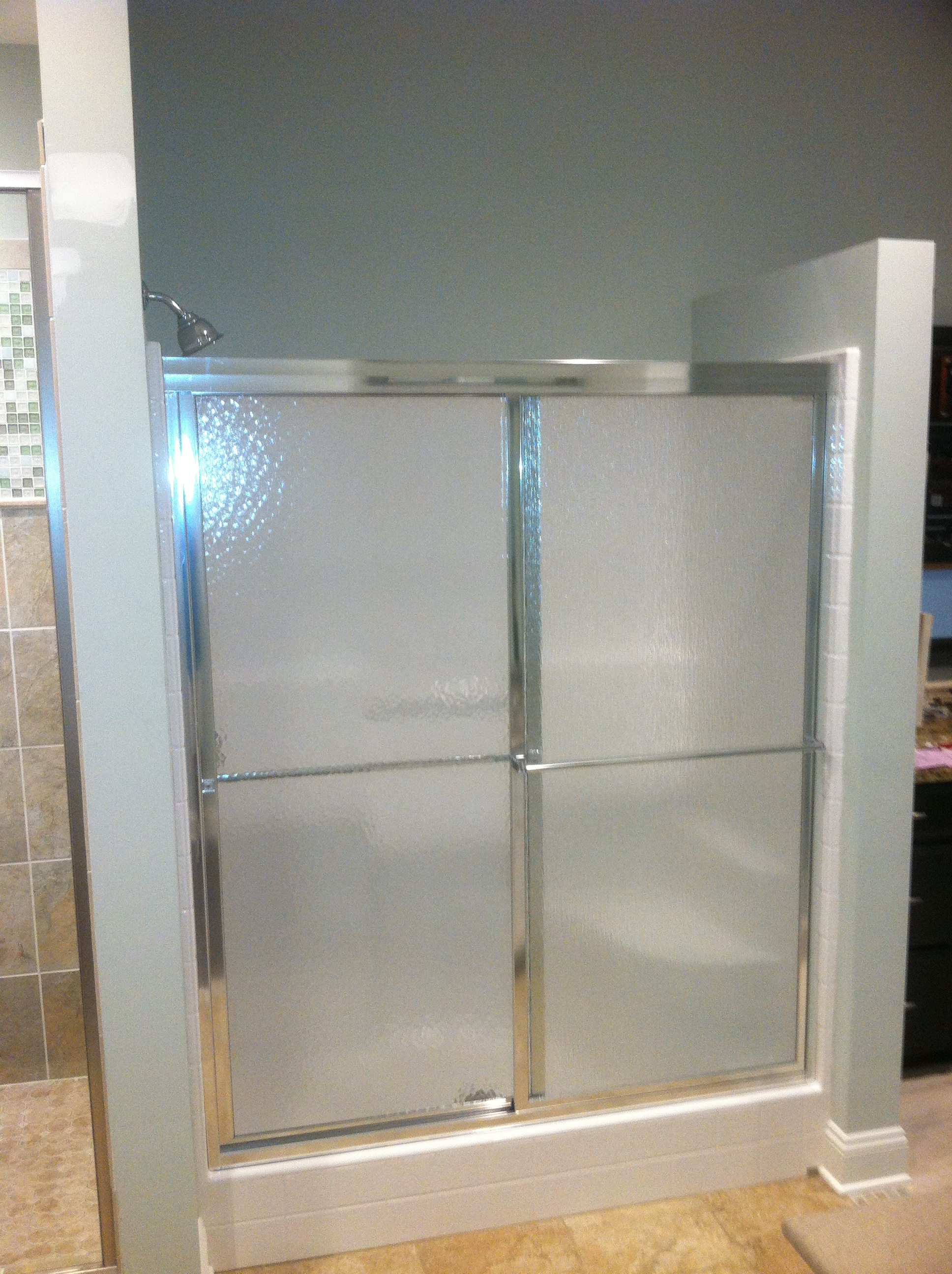 Bypass Shower Enclosure | Shower Glass, Charlotte | Barefoot and ...