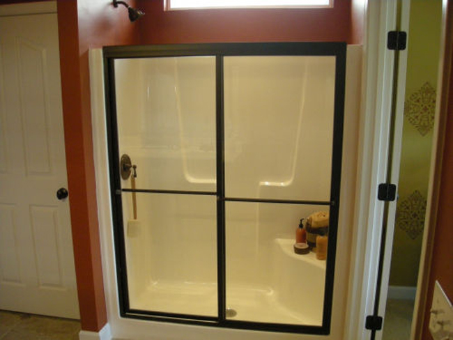 Bypass Shower Enclosure Shower Glass Charlotte Barefoot And Company