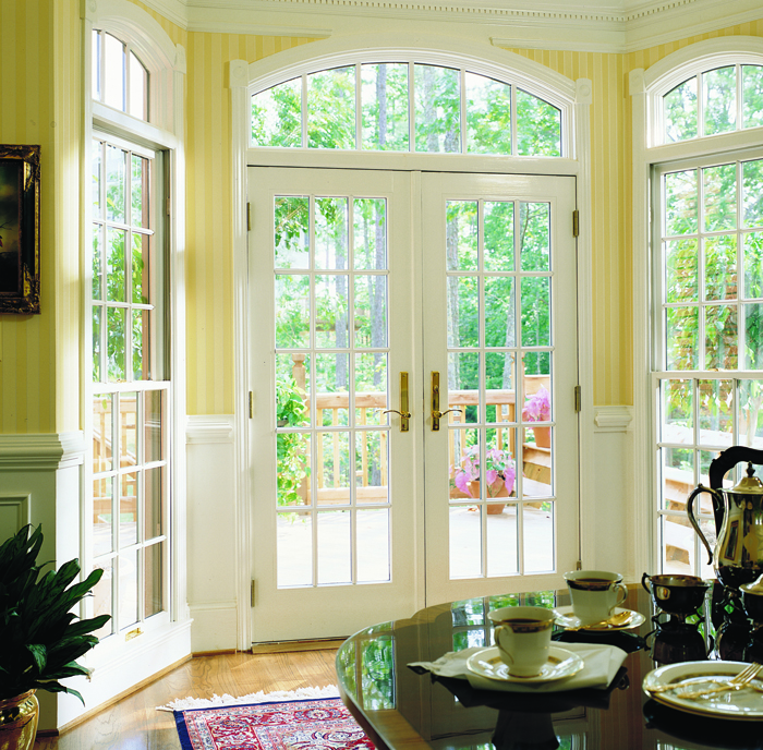 Merveilleux Beautiful Series Frenchwood Hinged Patio Door Colonial Grilles.