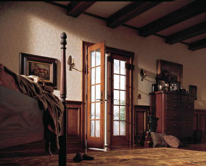 Andersen barefoot and company 400 series frenchwood hinged patio doors inswing antique brass estate hardware planetlyrics Image collections