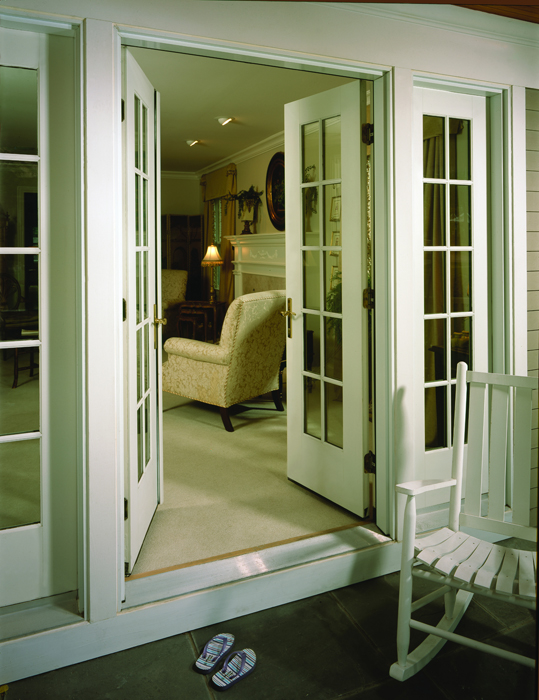 Andersen barefoot and company for Andersen french doors