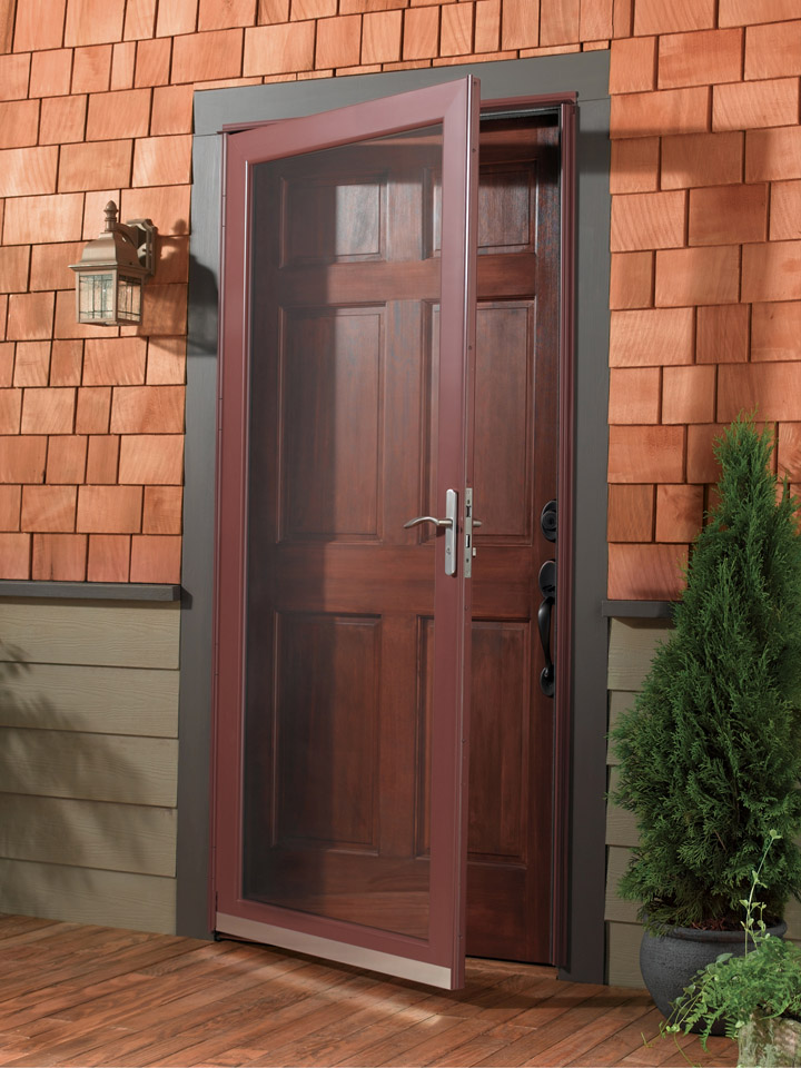 Storm doors barefoot and company for Anderson exterior doors