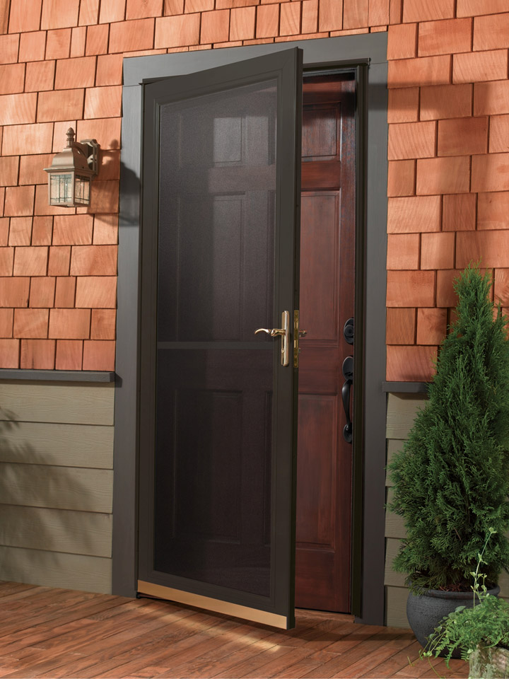 Anderson contemporary 1 for Front door with storm door