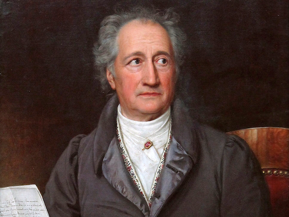 German writer Goethe