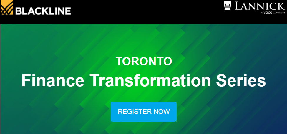 Toronto finance transformation series