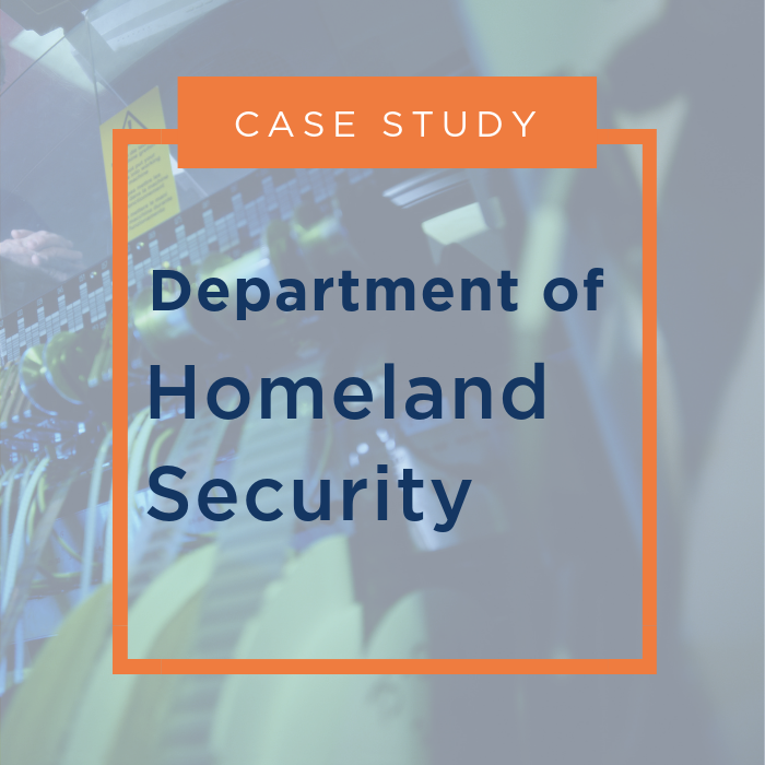 Department of Homeland Security S&T Case Study