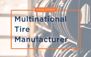 Tire Manufacterer Case Study