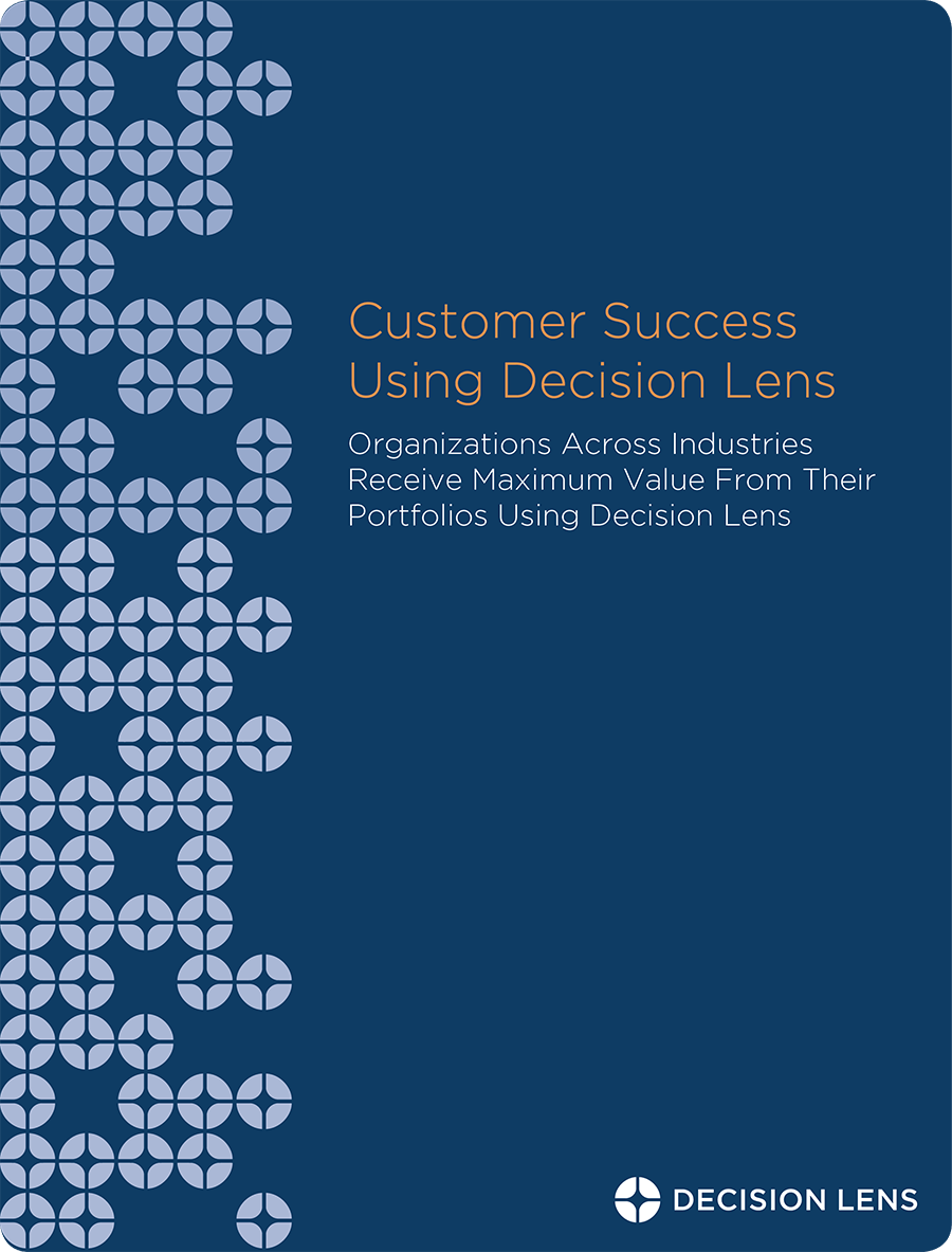 Customer Success Using Decision Lens