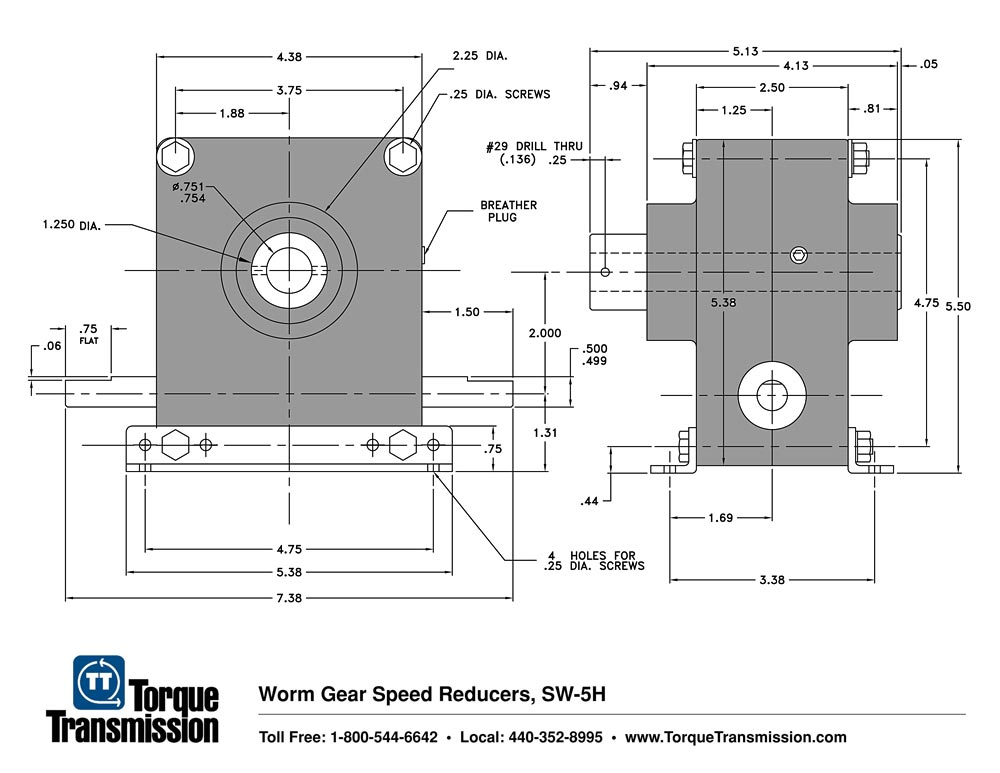 Right Angle Speed Reducer Right Angle Speed Reducers sw