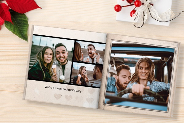 Gift for husband, wife photo book SC1