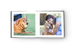 Leather Lay-Flat Photo Book
