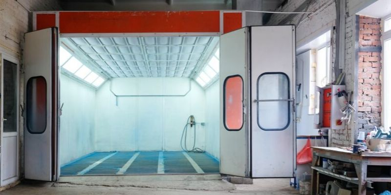 4 Tips For Preventing Dust And Dirt In Your Spray Booth