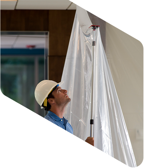 How to keep it clean with ZipWall® Dust Barrier