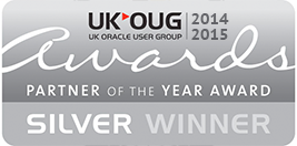 UK OUG Award Partner of the Year 2014-15