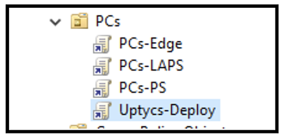 Give your Group Policy a unique name