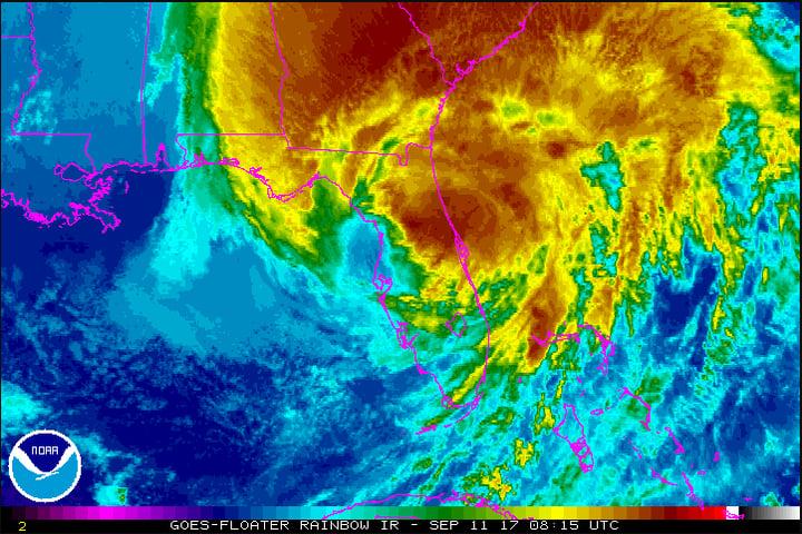 Storm Alert Update – Irma Passes Florida