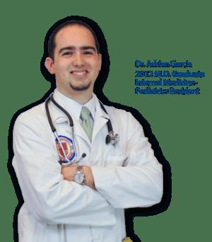 Trinity School of Medicine Alumni Spotlight: Dr. Adrian Garcia, Trinity Class of 2012