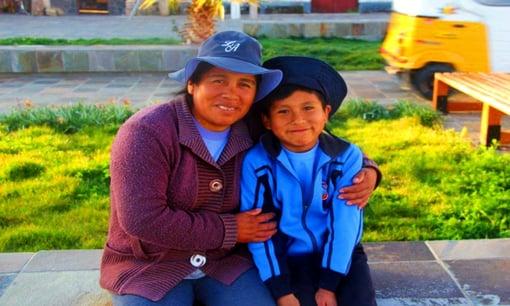 Voluntarias en Perú