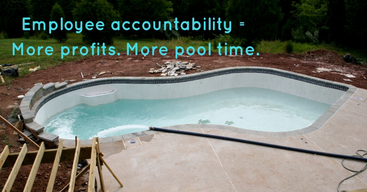 employee time tracking for pool pros and landscapers