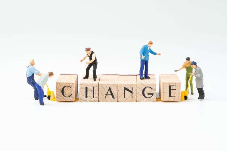 ¿Cómo gestionas los cambios?