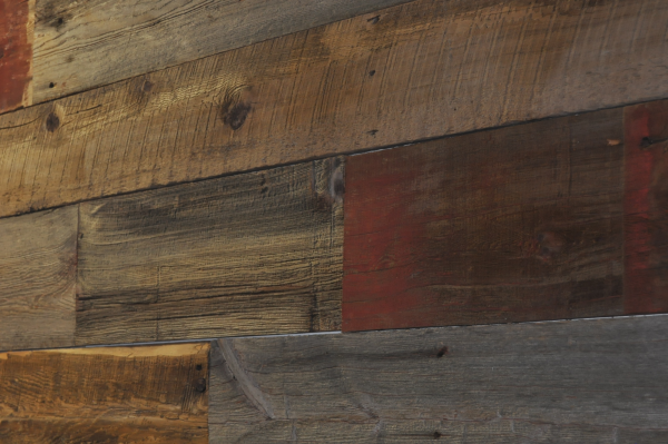 Interior Wall Wood Siding : Why is processed barn siding better for interior accent walls