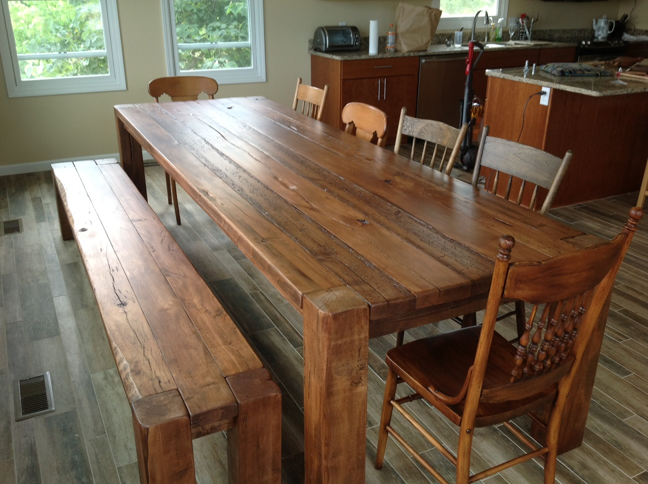 barn wood table plans