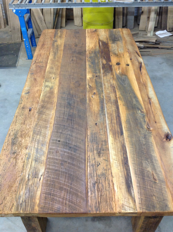how to build a tabletop from reclaimed wood 1