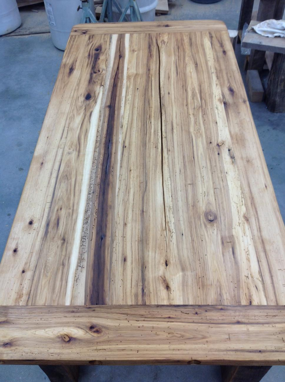 Classic farmhouse style hickory lane for Reclaimed fir flooring seattle