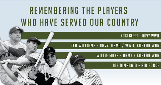 Remember the players who have served our country