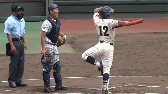 unique batting stance