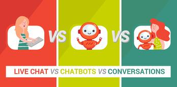 Chatbots, Live Chat or Conversations?