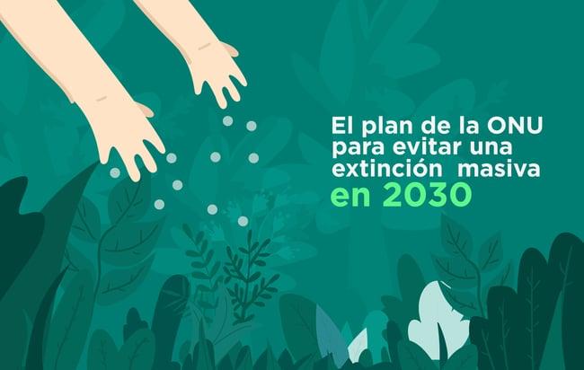 El plan de la ONU para evitar una extinción masiva en 2030