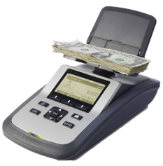 Tellermate cash counters are incredibly accurate and intelligent