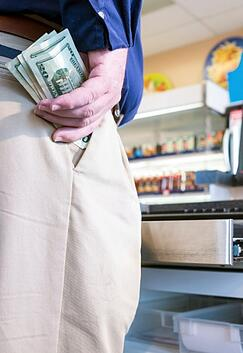 Explore how a Tellermate cash counter can prevent employee theft