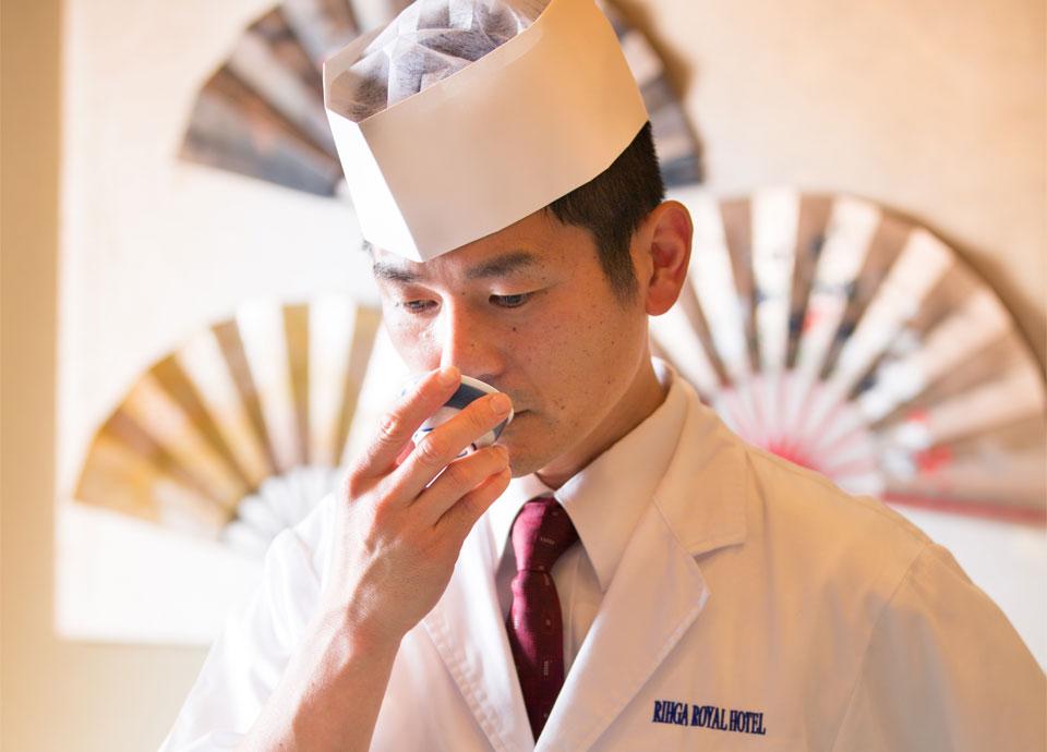 料理長 中村 嘉英が贈る 月 美食の夕べ