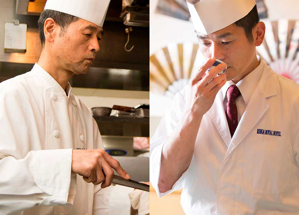 美食の夕べ 聖夜晩餐会~日本料理・中国料理のコラボレーション~