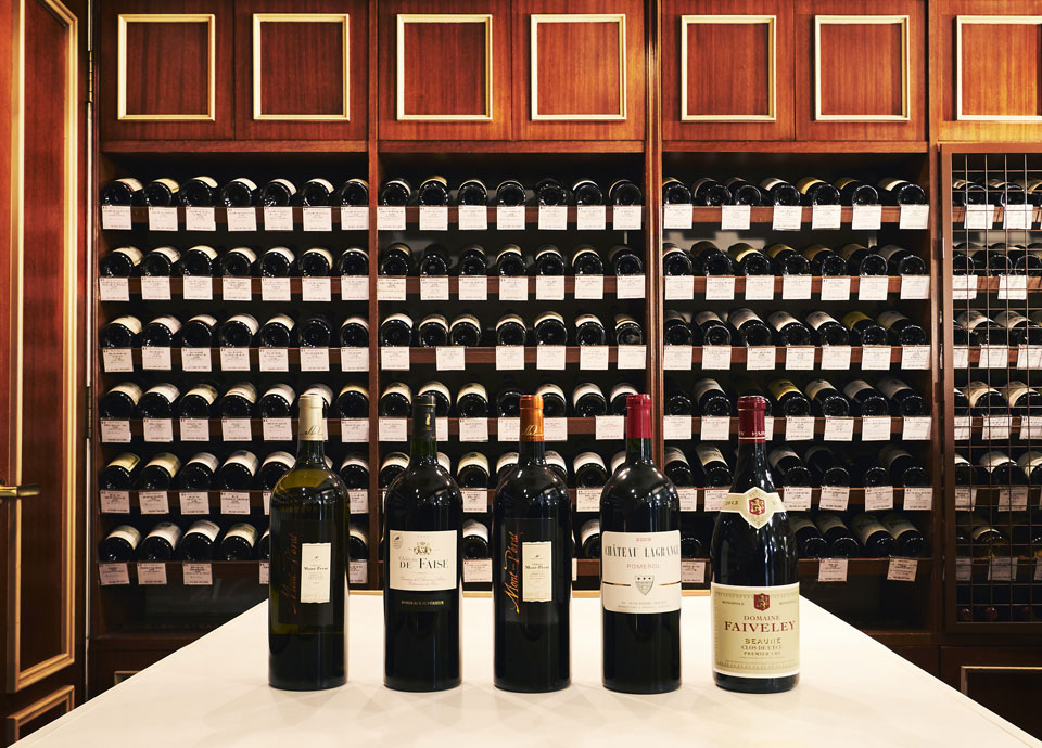 リーガロイヤルホテルの中のワインショップ「ラ・カーヴ・ド・リーガ」